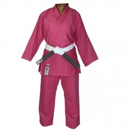 Kimono Judô Reforçado Kids Rosa Infantil