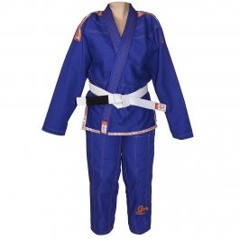 Kimono Jiu-jitsu Scorpion Azul Infantil